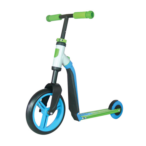 Schylling Scoot & Ride Blue/Green Highway Ride-On