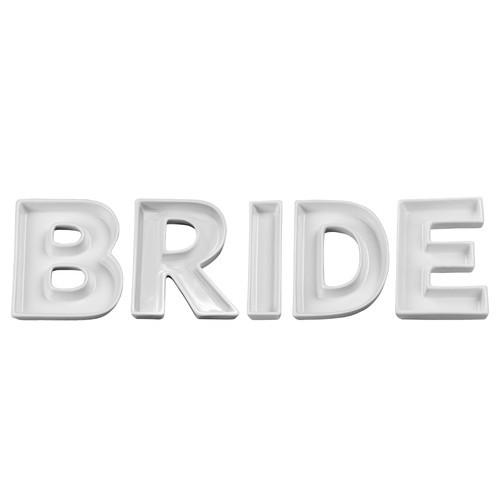 Ivy Lane Design BRIDE Candy Dish (Set of 5)