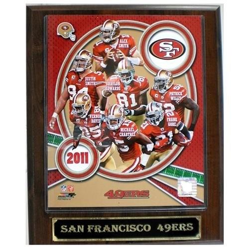 San Francisco 49ers Large 2011 Plaque