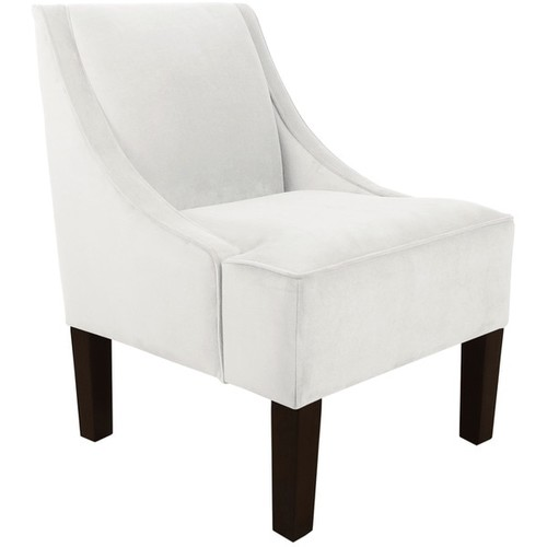 Skyline Furniture Velvet Fabric Accent Chair