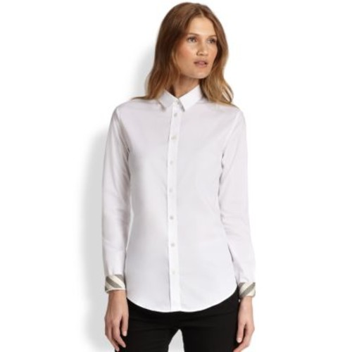 BURBERRY BRIT Button-Front Shirt