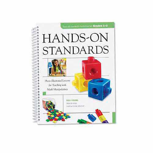 Learning Resources Hands-On Standards: Photo-Illustrated Lessons for Teaching with Math Manipulatives, Grades 1-2 [1]