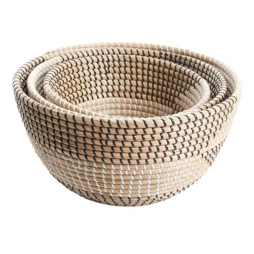 Gibson Eco-Friendly Michaelson 3-Piece Basket Set