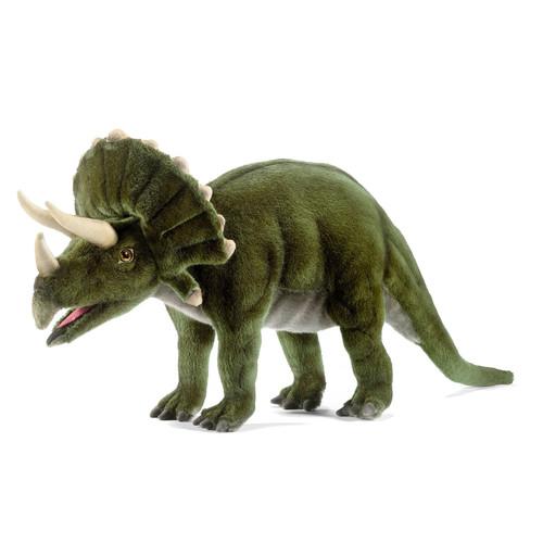 hansa Triceratops Dinosaur 20 Inch Plush
