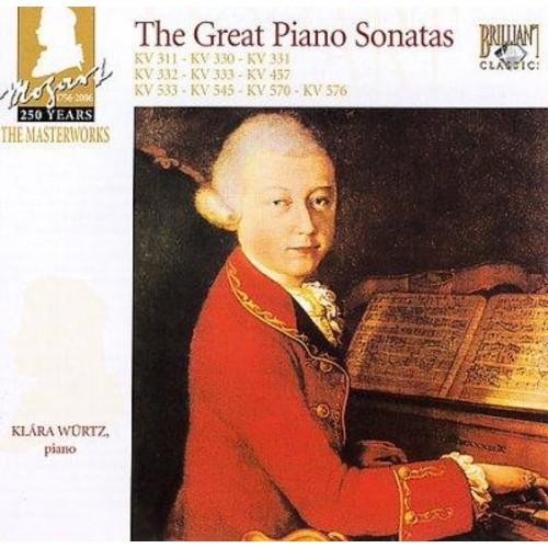 Klara Wurtz - Mozart: The Great Piano Sonatas