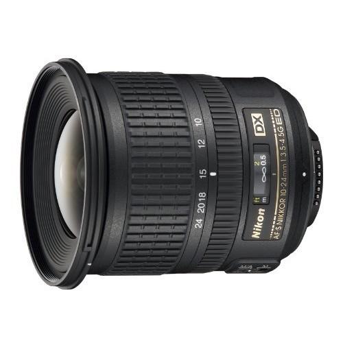 Nikon AF-S DX NIKKOR 10-24mm f/3.5-4.5G ED Zoom Lens with Auto Focus for Nikon DSLR Cameras [Lens Only]