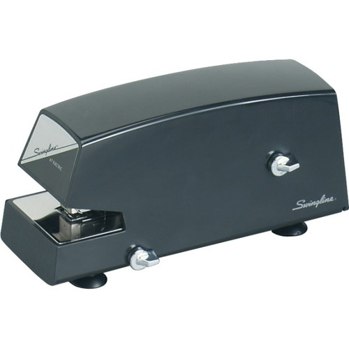 Swingline Commercial Electric Stapler, 20 Sheets, Black