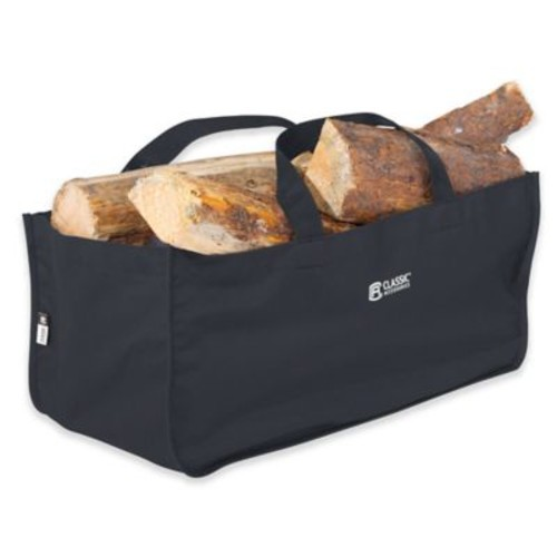 Classic Accessories Jumbo Log Carrier in Black