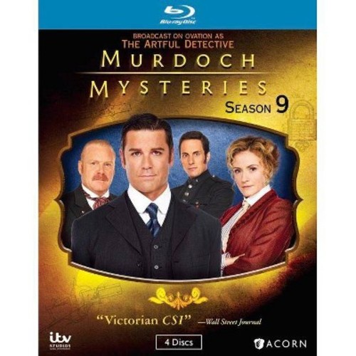 Murdoch Mysteries: Season 9 [Blu-ray]