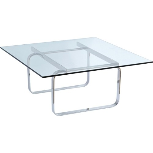 Fine Mod Imports - Hans Coffee Table - Square Table Top - Multi