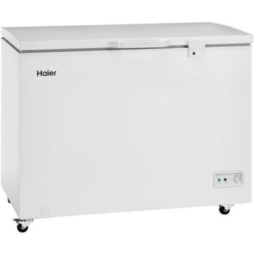 Haier HFC9204ACW 9.2 cu ft Flat-Back Design Chest Freezer, White