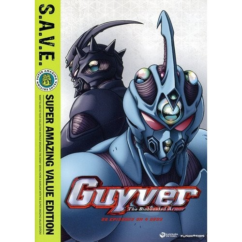 Guyver: The Bioboosted Armor - The Complete Series [S.A.V.E.] [4 Discs] [DVD]