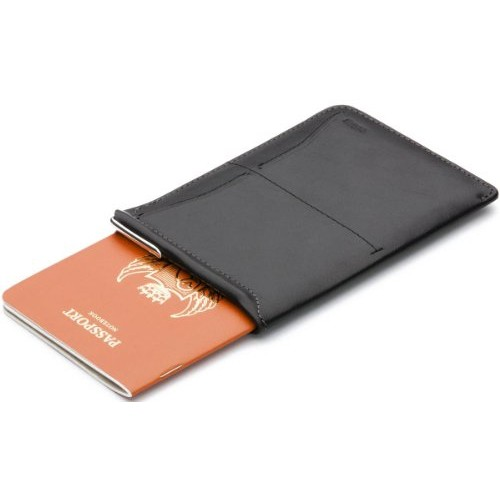Black Passport Sleeve Wallet by Bellroy