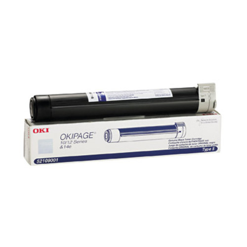 Oki Data 52109001 Black Laser Toner Cartridge