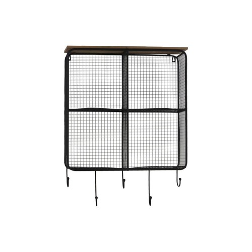 Urban Trends Collection 20.25 in. x 28.5 in. 4 Metal Wall Shelf