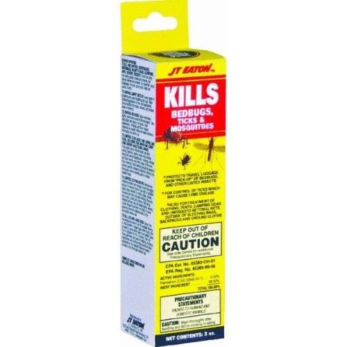 JT Eaton 209-W3Z Bedbugs Ticks and Mosquito Spray with Sprayer, 3-Ounce [3-Ounce]