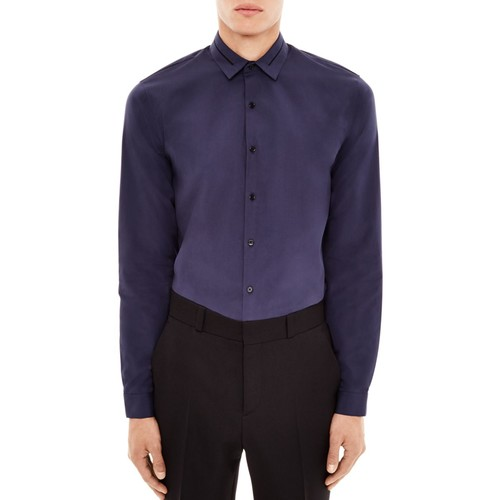 SANDRO Affinity Slim Fit Button-Down Shirt