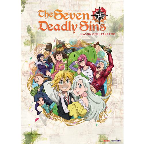 The Seven Deadly Sins: Season One - Part Two [2 Discs] [DVD]