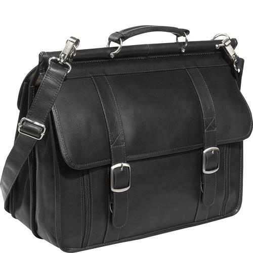 Piel European Laptop Briefcase