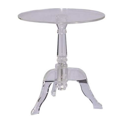 Linon Acrylic End Table