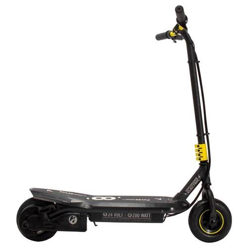 Pulse Performance Products - Sonic XL Electric Scooter - Black and Yellow