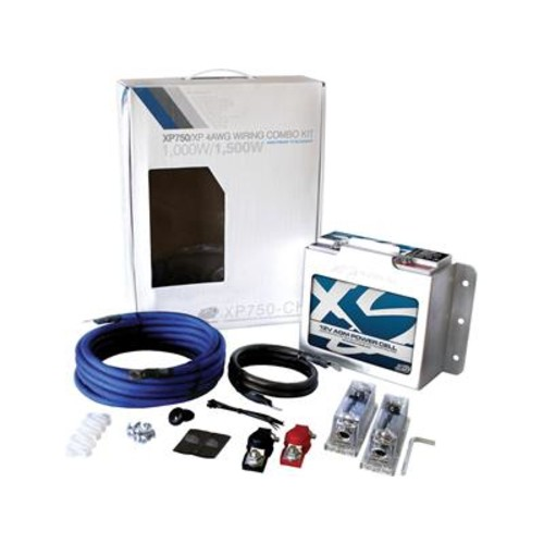 XS Power XP750CK Complete secondary battery kit for car audio and marine applications