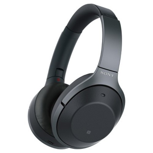 Sony Around Ear Noise Cancelling Wireless Headphone (Android/iOS) - Black
