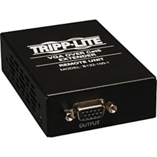 Tripp Lite VGA over Cat5 Receiver for use w/ B132-002-1, B132-004-1 TAA GSA