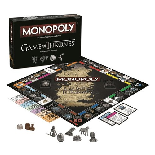Usaopoly USAMN104375 Game Of Thrones Monopoly