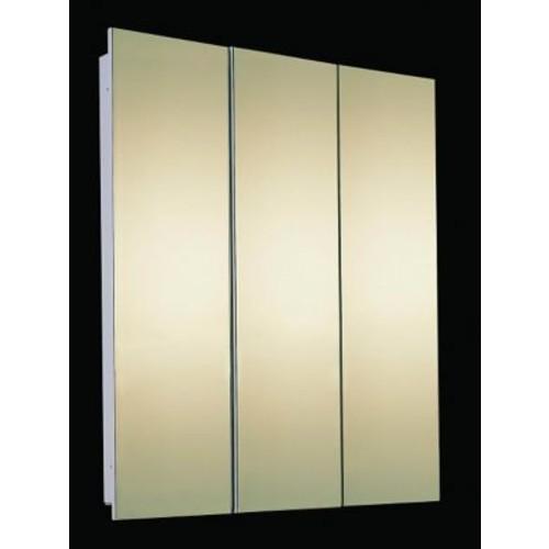 Ketcham Medicine Cabinets Tri-View 48'' x 36'' Recessed Medicine Cabinet