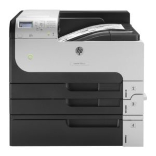 HP LaserJet Enterprise 700 M712xh Printer - Monochrome, Duplex, Laser, A3/Ledger, 1200 dpi, Up to 40 ppm, Tray Capacity 1100 Sheets, USB, Gigabit LAN, USB - CF238A#BGJ