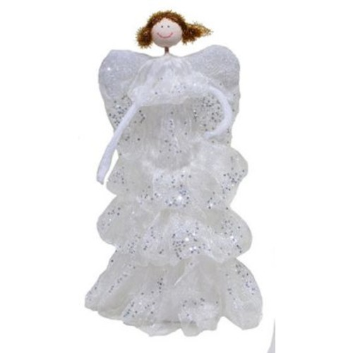 The Holiday Aisle Standing Angel; 12'' H x 5.5'' W x 5.5'' D