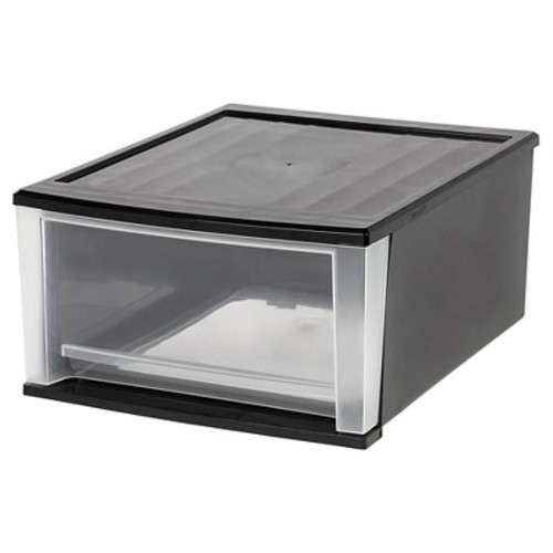 IRIS 32 Quart Stacking Drawer - 2 Pack