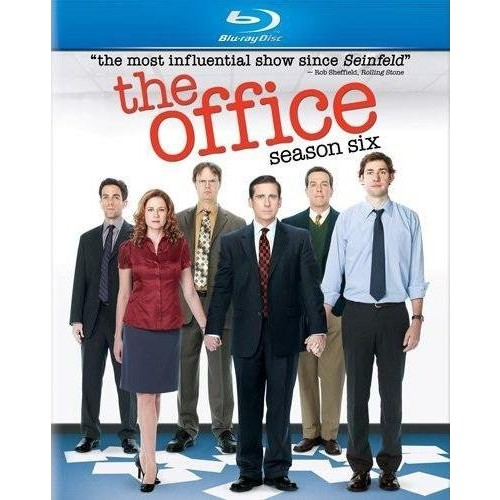 The Office: Season Six (Deluxe Blu-ray Edition with Bonus Disc) [Blu-ray]