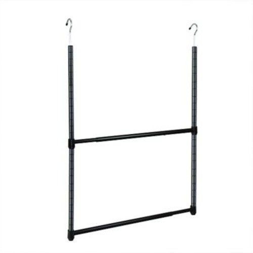 Oceanstar Design 2-Tier Hanging Organizer; Black