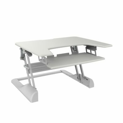 TygerClaw Sit-Stand Desktop Workstation Stand (TYDS14014)