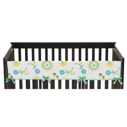 Sweet Jojo Designs Layla Collection Long Crib Rail Guard Cover