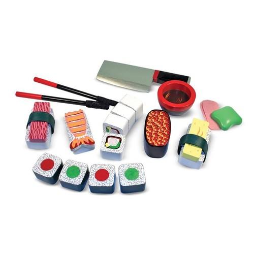 Melissa & Doug Wooden Sushi Slicing Play Set