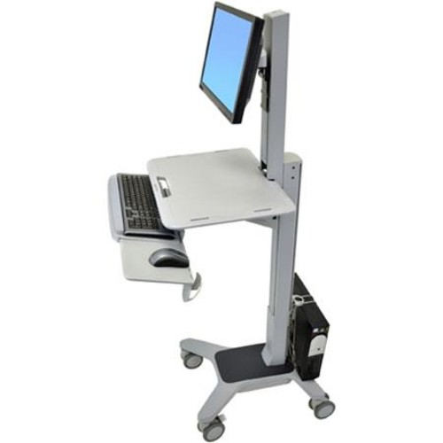 Ergotron WorkFit-C Single LD Sit-Stand Workstation 24-198-055