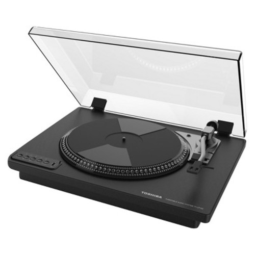 Toshiba TY-LP100 Vintage Retro Look Turntable with Stereo Built-in Speakers Bluetooth and Encoder