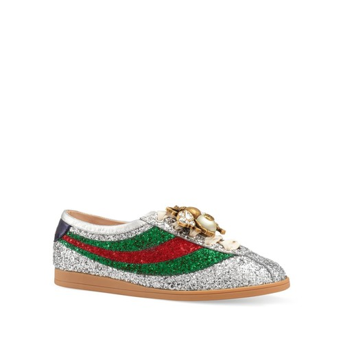 GUCCI Women'S Falacer Embellished Sneakers