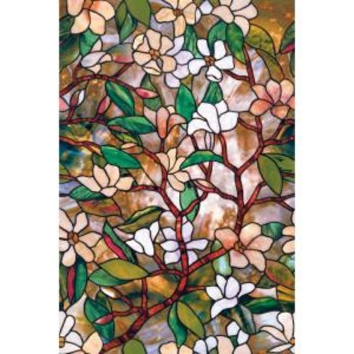 Artscape 24 in. x 36 in. Magnolia Decorative Window Film