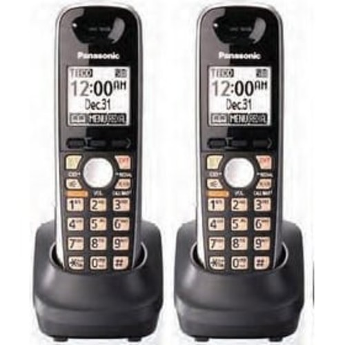 Panasonic KX-TGA651B Additional Cordless Handset For DECT 6.0 KX-TG6500 Series(2 Pack)