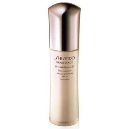 Shiseido Benefiance WrinkleResist24 Day Emulsion SPF 18, 2.5 oz