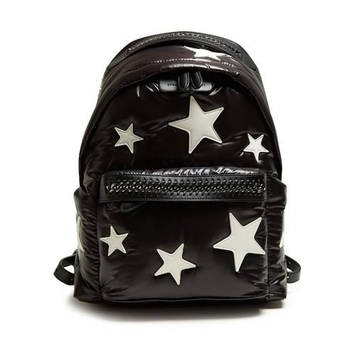 Falabella Go padded eco-nylon backpack