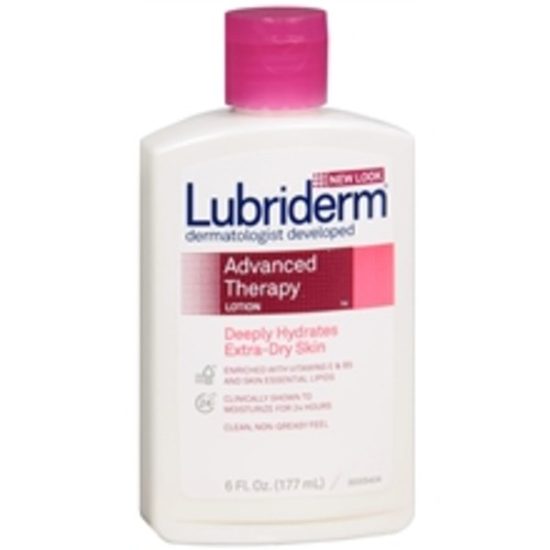 Lubriderm Advanced Therapy Moisturizing Body Lotion, For Extra Dry Skin