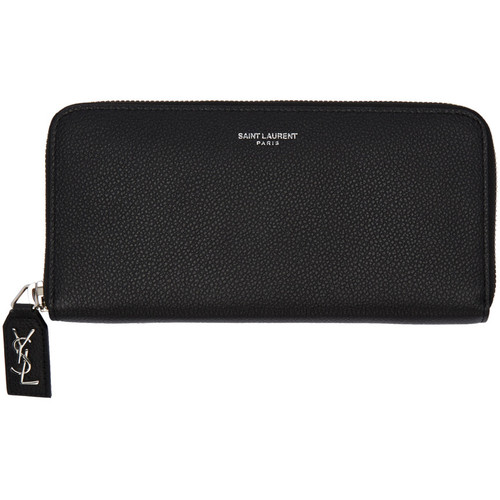 SAINT LAURENT Black Rive Gauche Wallet