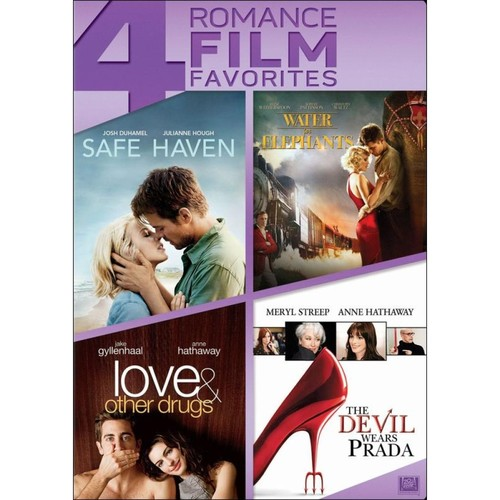 Safe Haven/Water for Elephants/Love & Other Drugs/The Devil Wears Prada [4 Discs] [DVD]