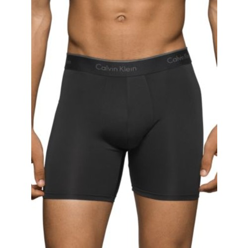 Microfiber Stretch Solid Boxer Briefs- Pack of 3