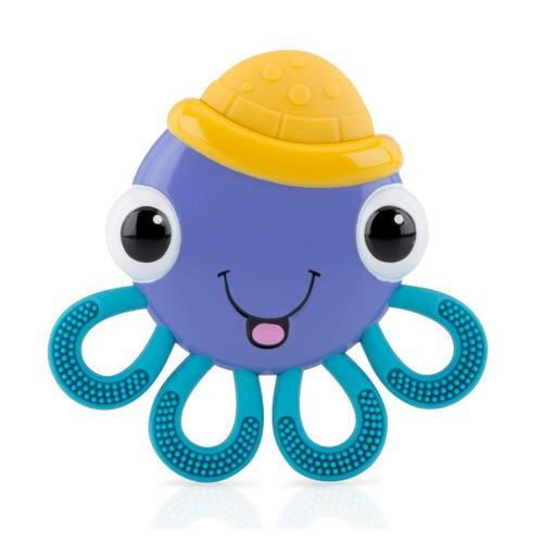 Vibe-eezTM Vibrating Teether - Octopus